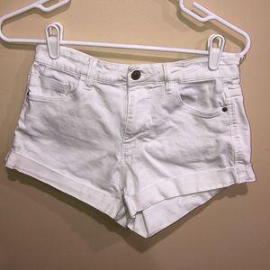 Zara Trafaluc White Shorts